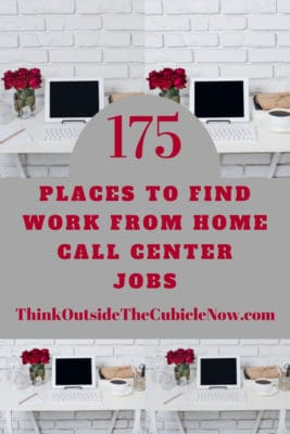 175 Work From Home Call Center Jobs | Think Outside the
